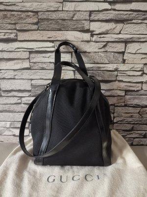 Original Gucci Tasche Umhängetasche schwarz inkl Beutel