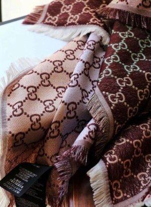 Gucci Woolen Scarf brown