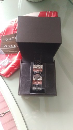 Gucci Analog Watch light grey stainless steel
