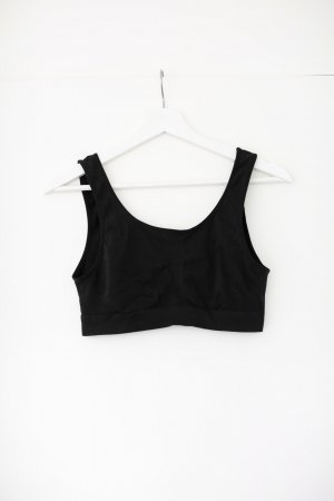 Hanro Cropped top zwart