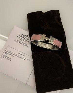 Original Hermes Armreifen Clic Clac rose Armband