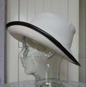 Hermès Safari Hat white-natural white linen