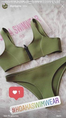About You Bikini forest green-dark green