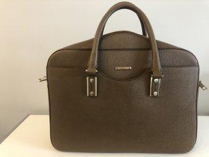 Original Hugo Boss Designer Tasche, cognac, Rindsleder, Top Zustand