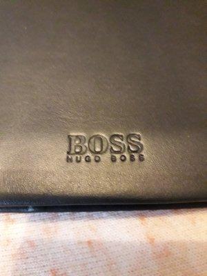 Hugo Boss Porte-cartes noir cuir