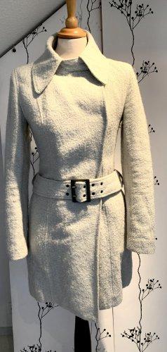 Boss Orange Wollen jas lichtgrijs Wol