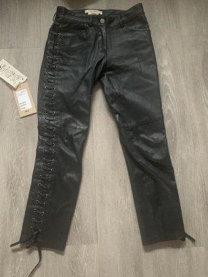 Isabel Marant pour H&M Leren broek zwart