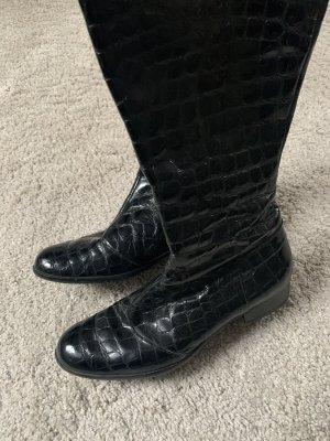 Lavorazione Artigiana Halfhoge laarzen zwart