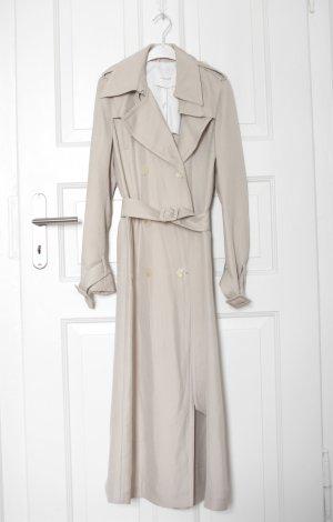 Original Ivy & Oak Trench Coat Mantel beige Nude Gr. 36 Vintage Look Neu mit Etikett