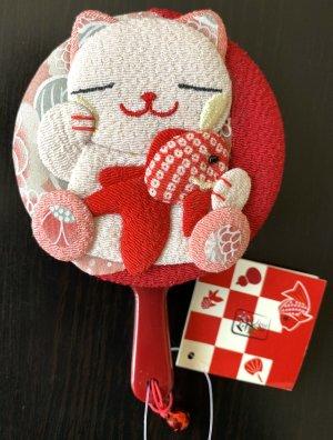 Original Japan Vintage 90er Spiegel Handspiegel Katze Spielzeug rar Kawaii