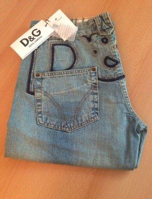 Dolce & Gabbana Low Rise jeans lichtblauw