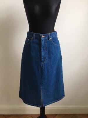 Levi's Gonna di jeans blu Cotone