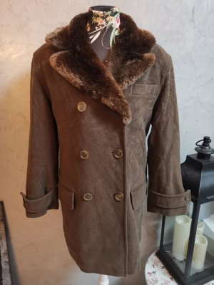 Jil Sander Abrigo de lana color bronce Lana