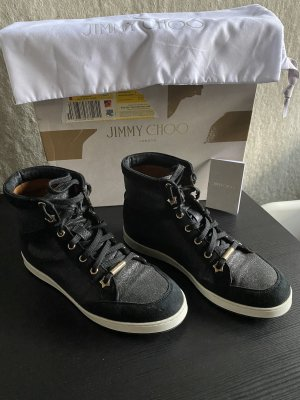 Original Jimmy Choo High Top Sneaker 36/37 Top