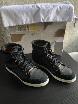 Original Jimmy Choo High Top Sneaker 36/37 Top