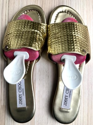 Jimmy Choo Comfort Sandals gold-colored