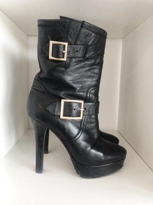 Original Jimmy Choo Plateau-Stiefel / Stiefeletten / Boots