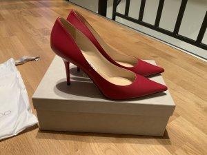 Original Jimmy Choo Pumps Agnes, Raspberry, Größe 39
