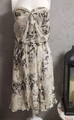 Original John Galliano Bandeau Kleid Gr 34 ital 38  Neu mit Etikett