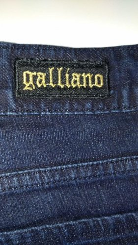 Original John Galliano Damen Jeans blau