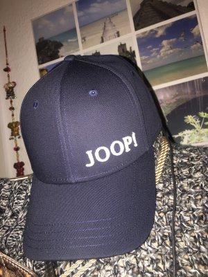 Joop! Gorra de béisbol azul oscuro-blanco