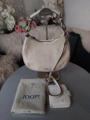 Original Joop! Tasche Hobo Bag inkl Geldbörse Leder & Schultergurt