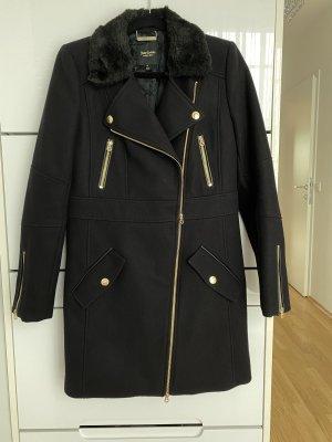 Juicy Couture Abrigo de invierno negro Lana