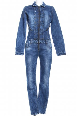Jumpsuit blau Casual-Look
