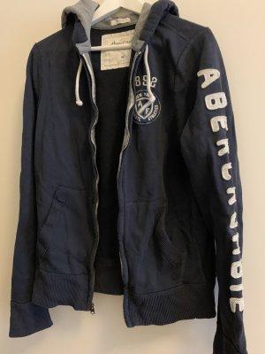 Original Kapuzen Jacke von abercrombrie & fitch in dunkelblau, Größe Medium. Kaum getragen