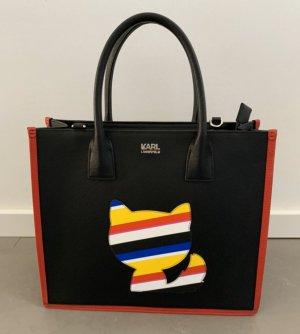 Karl Lagerfeld Sac Baril multicolore