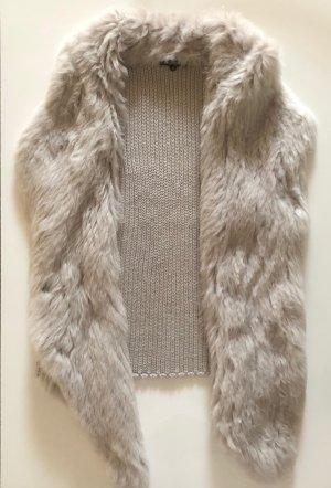 Kocca Smanicato di pelliccia beige chiaro