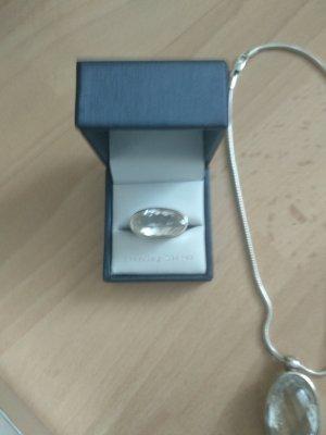 Original komplett Anhänger und Ring ,original Bergkristall, gekaufte teuer.silber925