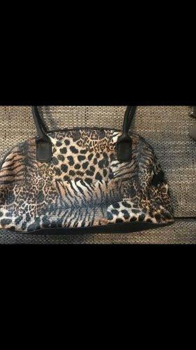 Original L.credi Damen Handtasche Leoprint Mix