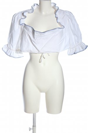 Original-Lanz Blusa tradizionale bianco elegante