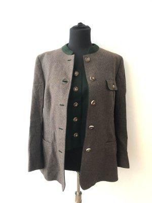 Lanz Trachten Couture Veste bavaroise vert foncé-brun