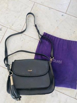 Original Laurel Tasche Leder schwarz