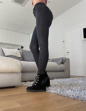 Lee Jeans taille haute noir