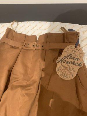 Falda larga marrón Algodón