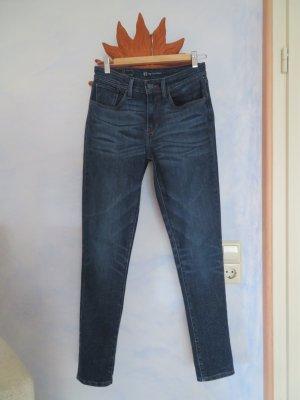 Original Levi´s High Rise Skinny Jeans Blau W27 L32