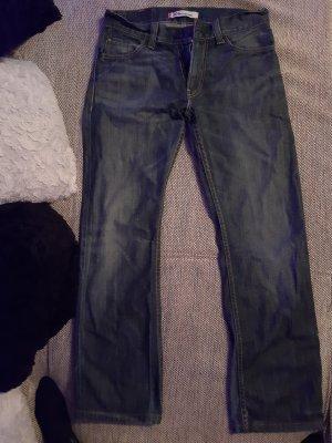 Levi's Jeans flare bleu foncé-bleu acier