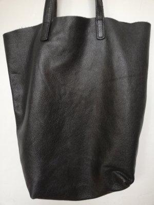 Original LIEBESKIND BERLIN Echtledershopper in schwarz