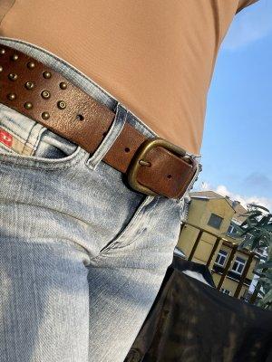 Liebeskind Leather Belt brown