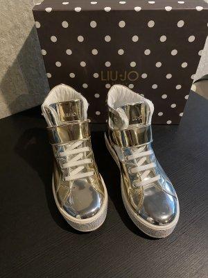 Original Liu Jo Glitzer Sneaker 37 neuwertig