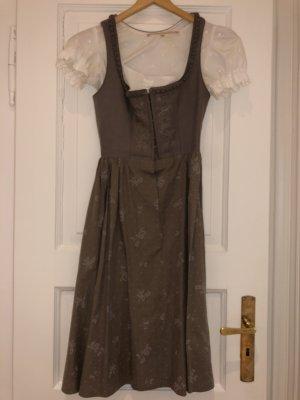 Lodenfrey Vestido Dirndl marrón grisáceo