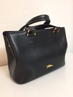 Longchamp Sac fourre-tout noir-doré