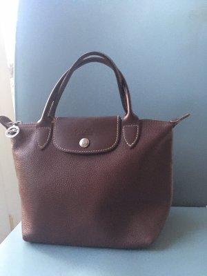 Original Longchamp Ledertasche Tasche Neuwertiger Zustand