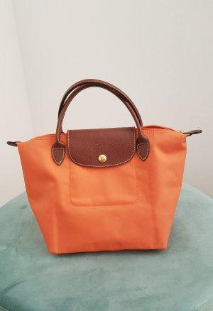 Original Longchamp Tasche Le Pliage S in orange