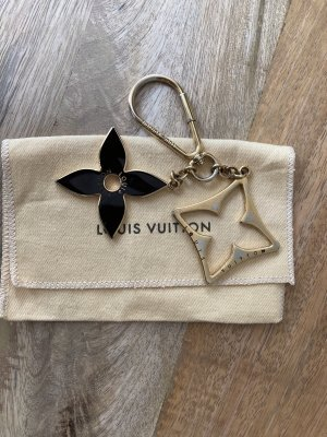 Louis Vuitton Porte-clés noir-doré
