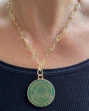 Louis Vuitton Łańcuch leśna zieleń-złoto