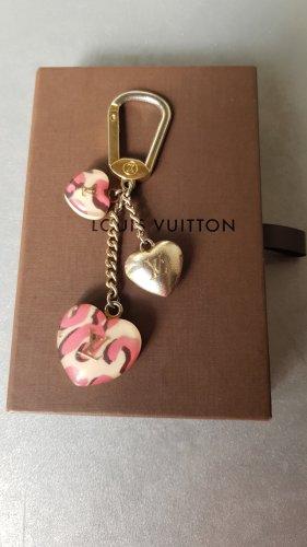 Original Louis Vuitton Anhänger für Tasche Stephen Sprouse Herz Taschenschmuck Taschenanhänger